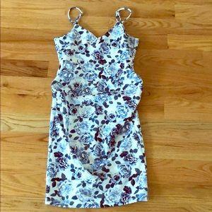 ASOS Floral scuba maternity dress